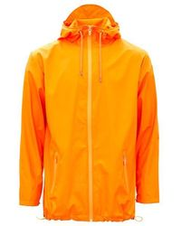 Rains - Fire Orange Unisex Breaker Jacket - Lyst