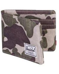 Herschel Supply Co. Camo Roy Frog Geldbörse - Mehrfarbig