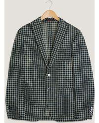 The Gigi - Degas Checked Mesh Jacket - Lyst