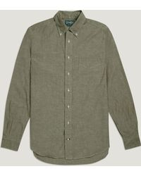 Gitman Brothers Vintage - Japanese Chambray Shirt - Lyst
