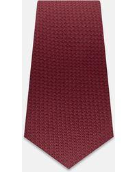 Turnbull & Asser - Red Grenadine Silk Tie - Lyst