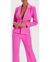 Forever Unique - Kitty Tailored Cut Out Blazer - Lyst