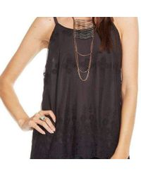 Chaser - Grey Vintage Lace Cami - Lyst