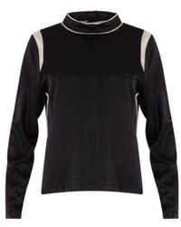 COSTER COPENHAGEN - Long Sleeve Contrast Top - Lyst