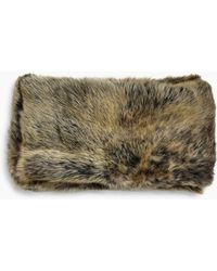 UGG - Varsity Sheepskin Snood Varsity Sheepskin Snood - Lyst