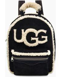 UGG - Dannie Sheepskin Backpack - Lyst