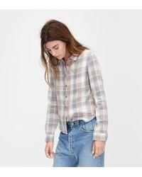 UGG - Women's Crisscross Woven Shirt - Lyst