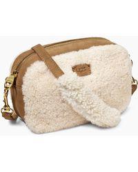 UGG - Women's Share This Product Janey Sheepskin Crossbody Ii - Lyst