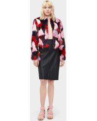 UGG - Women's Lorrena Patchwork Faux Fur - Lyst