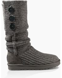 UGG - Women's Classic Cardy Knit Boot - Lyst