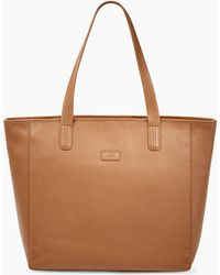 UGG - Women's Alina Leather Tote Bag - Lyst
