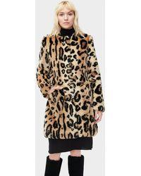 UGG - Lisabeth Faux Fur Coat Lisabeth Faux Fur Coat - Lyst