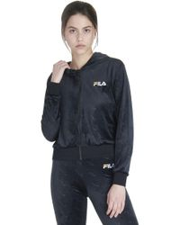 Fila - Women's Cipriana All Over Print Hoodie - Lyst
