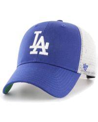 47 Brand - Los Angeles Dodgers Branson Mvp Trucker Cap - Lyst bdabee4b8fee