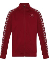 Kappa - Anniston Zip Front Track Top - Lyst