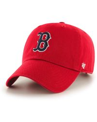47 Brand - Mlb Boston Red Sox '47 Clean Up Adjustable Baseball Cap - Lyst