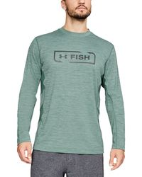 5057c51d0c9a8 Lyst - Under Armour Men's Ua Fish Stalker Long Sleeve in Black for Men
