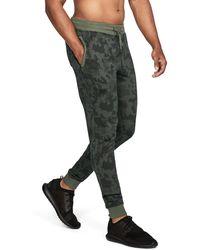 Under Armour - Men's Ua Threadbornetm Fleece Patterned Stacked Joggers - Lyst
