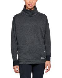 Under Armour - Women's Ua Sweater Fleece Funnel Neck - Lyst