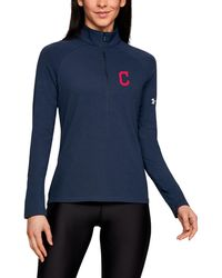 Under Armour - Women's Mlb Ua Left Chest 1⁄2 Zip - Lyst