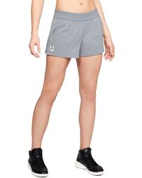 Under Armour - Women's Ua 24/7 Microthread Terry Shorts - Lyst