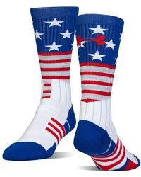 Under Armour - Unrivaled Stars & Stripes Crew - Lyst