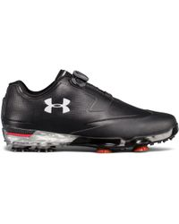 Under Armour - Men's Ua Tour Tips Boatm – Extra Wide Golf Shoes - Lyst