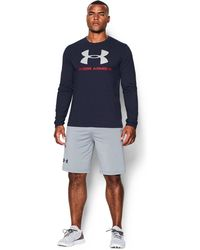 Under Armour | Men's Ua Sportstyle Long Sleeve T-shirt | Lyst