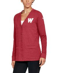 Under Armour - Wisconsin Iconic Cardigan - Lyst