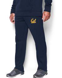 Under Armour - Men's Cal Bears Fleece Pants - Lyst