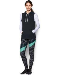 Under Armour - Women's Ua Favorite Fleece Word Mark Vest - Lyst