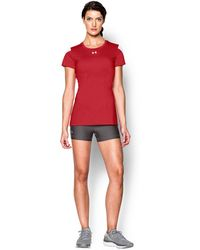 Under Armour - Women's Ua Block Party Short Sleeve Jersey - Lyst