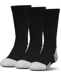 Under Armour - Ua Heatgear® Tech Crew Socks - Lyst