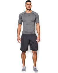 Under Armour - Men's Ua Heatgear® Armour Short Sleeve Compression Shirt - Lyst