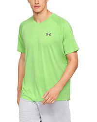 9081e2e0 Lyst - Under Armour Men's Ua Seamless T-shirt in Green for Men