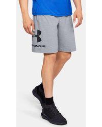 Under Armour - Herren UA Sportstyle Shorts aus Baumwolle mit Grafik - Lyst