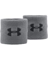 """Under Armour - Men's Ua 3"""" Performance Wristband – 2-pack - Lyst"""