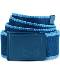 Under Armour - Men's Ua Webbing Patterned Belt - Lyst