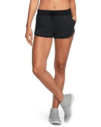 Under Armour - Women's Ua Unstoppable Knit Shorts - Lyst