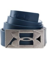 Under Armour - Men's Ua Reversible Pu Leather Golf Belt - Lyst