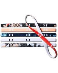 Under Armour - Graphic Mini Headbands - 6-pack - Lyst