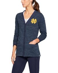 Under Armour - Women's Notre Dame Ua Iconic Cardigan - Lyst