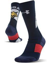 Under Armour - Ua Americana Crew Socks - Lyst