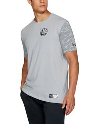 Under Armour - Men's Nba Combine Ua Pinnacle T-shirt - Lyst