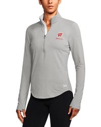 Under Armour - Wisconsin Charged Cotton 1⁄4 Zip - Lyst