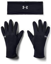 Under Armour Run Band & Glove Pack