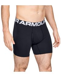 "Under Armour - ""men's Charged Cotton 6"""" Boxerjock - 3-pack"" - Lyst"