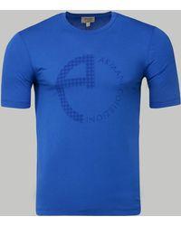 Armani - Print T-shirt - Lyst