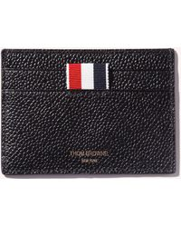 Thom Browne - Leather Pebble Grain Card Holder - Lyst