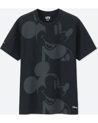 ca67071a Uniqlo Mickey Art Short-sleeve Graphic T-shirt (andy Warhol) in ...